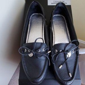 Women's Sperry Black flats 7.5